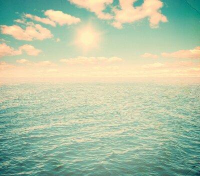 Fotomural Céu bonito e mar azul