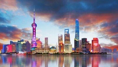 Fotomural China - Shangahi skyline
