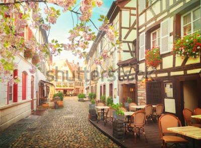 Fotomural cidade velha de Estrasburgo, França