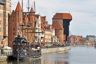 Fotomural Cidade velha de Gdansk