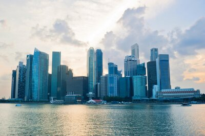 Fotomural Cingapura cener negócio