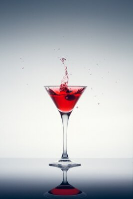 Fotomural cocktail clássico contemporâneo