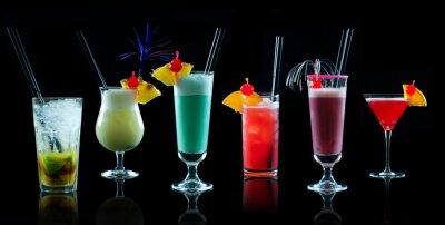 Fotomural Colagem Cocktail 1