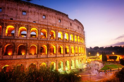 Fotomural Coliseu em Roma, Itália