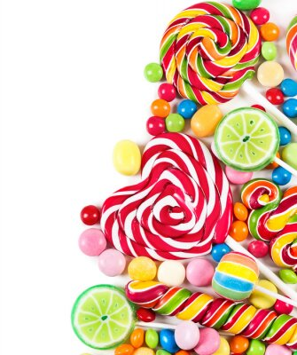 Fotomural Colorful candies