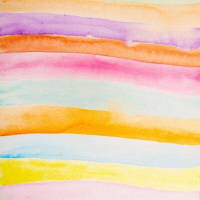 Fotomural Colorido, tiras, água, cor