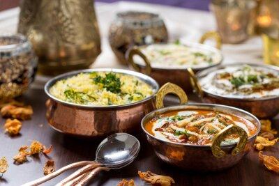 Fotomural comida indiana