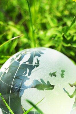 Fotomural conceito da ecologia