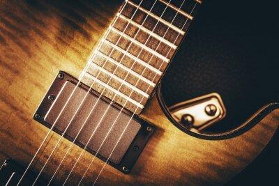 Fotomural Conceito da guitarra elétrica