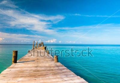 Fotomural Contemplando o Mar Viver é Fácil