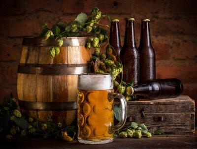Fotomural Copo de cerveja