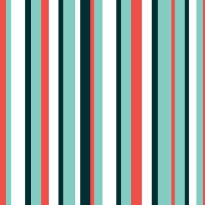 Fotomural Cor linda padrão de vetor de fundo listrado. Pode ser usado para papel de parede, preenchimentos de padrão, fundo de página da web, texturas de superfície, em têxteis, para o livro design.vector ilust