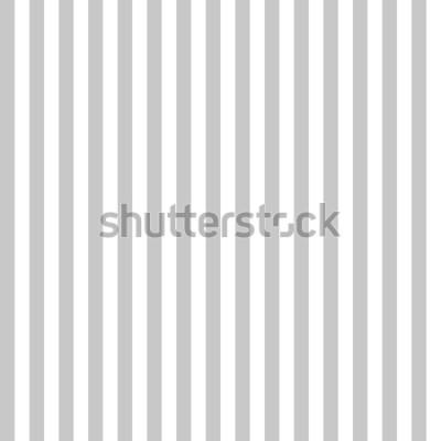 Fotomural Cores cinzentas e brancas sem emenda da listra do teste padrão. Vetor vertical do fundo do sumário da listra do teste padrão.