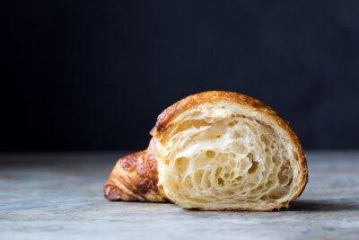 Fotomural Croissants cozidos frescos