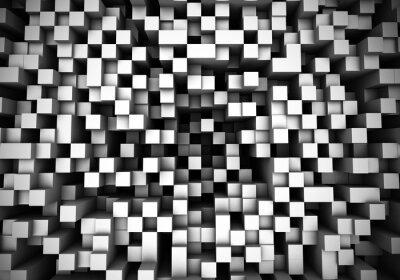 Fotomural Cube extrusão