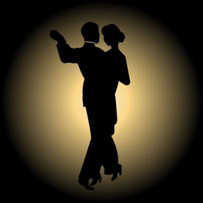Fotomural Dança lenta