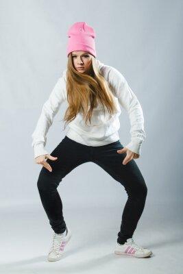 Fotomural Dançarino de hip hop