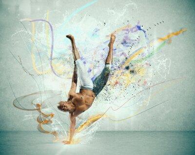 Fotomural Dançarino moderno