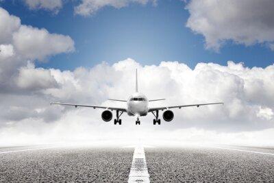 Fotomural decolagem em aeroporto
