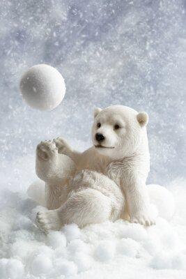 Fotomural Decoração Urso Polar