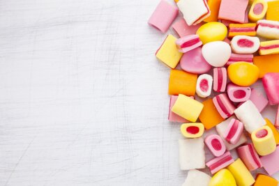 Fotomural Delicioso doce doce com espaço da cópia