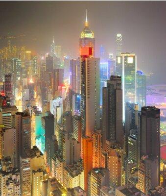 Fotomural Densidade de Hong Kong
