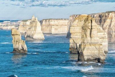 Fotomural Deslumbrante, aéreo, vista, Doze, Apóstolos, Victoria - Austrália