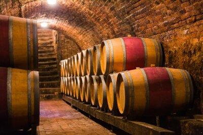 Fotomural Destinatários finos para o melhor vinho