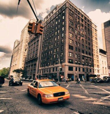 Fotomural Detalhe da arquitetura de Nova York, EUA