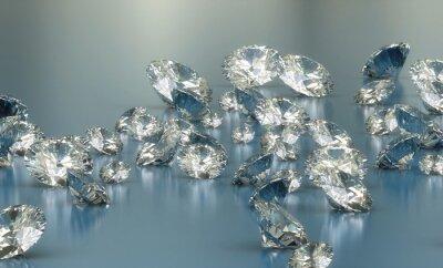 Fotomural diamantes