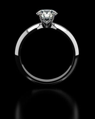 Fotomural Diamond Ring Único