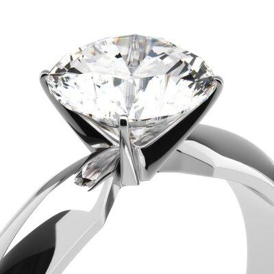 Fotomural Diamond Rings