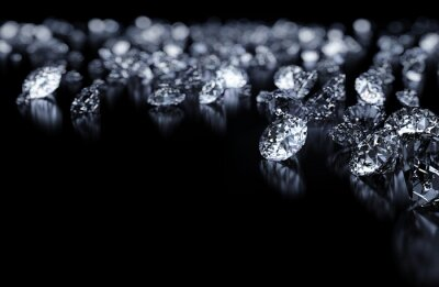Fotomural Diamonds fundo
