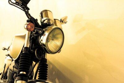 Fotomural Dividir tonificação motocicleta do vintage