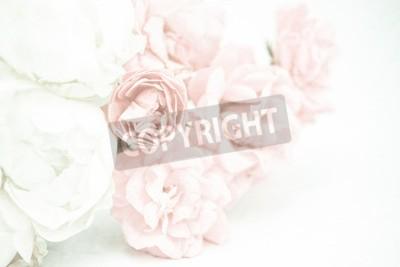 Fotomural Doce, cor, rosas, macio, e, blur, estilo, amora, papel, textura