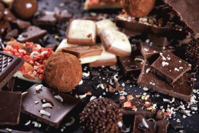 Fotomural Doces de chocolate