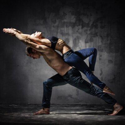 Fotomural Dois dançarinos