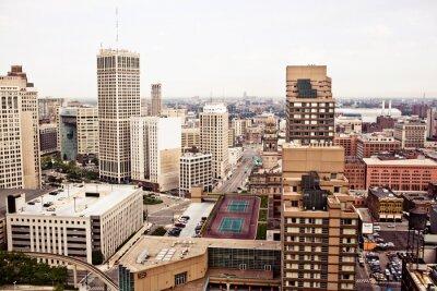 Fotomural Downtown Detroit
