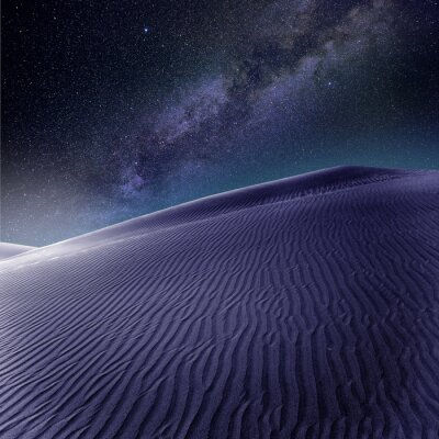 Fotomural Dunas de areia do deserto em Maspalomas Gran Canaria