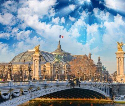 Fotomural Edifícios e monumentos de Paris