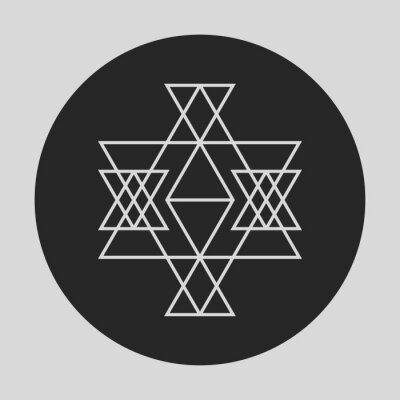 Fotomural Elemento gráfico geométrico