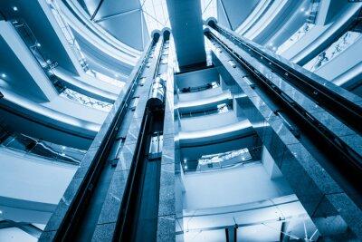 Fotomural elevador