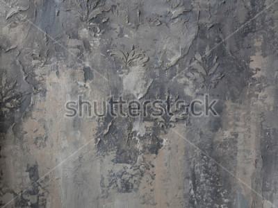 Fotomural em muro de concreto cinzento