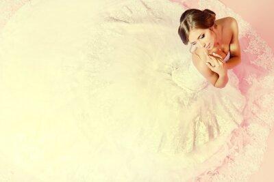 Fotomural encantadora noiva