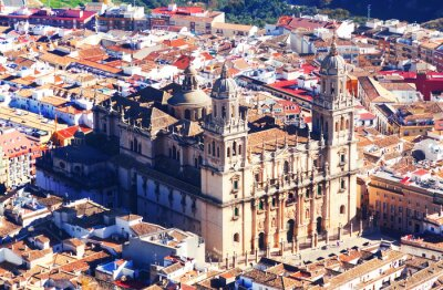 Fotomural Ensolarado, vista, jaen, catedral