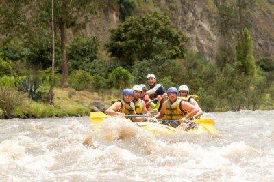 Fotomural Equador Rafting no Rio Whitewater