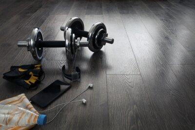 Fotomural Equipamento para fitness