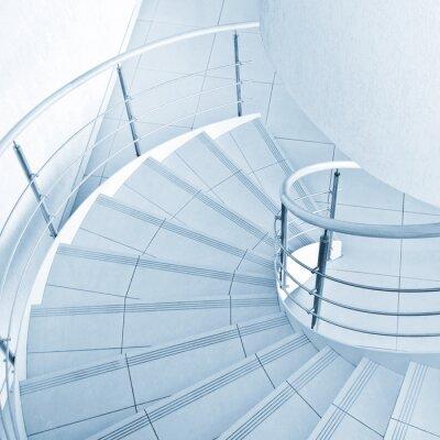 Fotomural Escada em espiral
