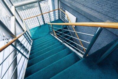 Fotomural escadas em edifícios
