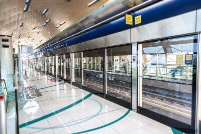 Fotomural Estação de Metro em Dubai